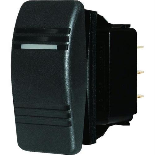 Blue Sea 8285 Water Resistant Contura Switch - Black