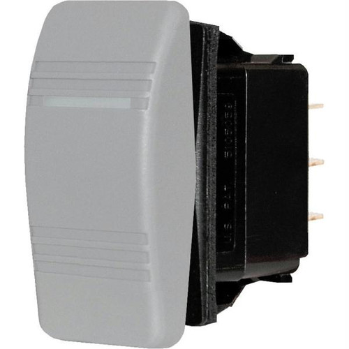 Blue Sea 8275 Water Resistant Contura Switch - Gray