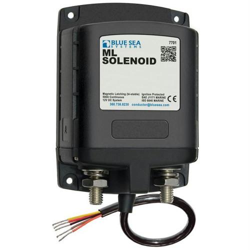 Blue Sea 7701 ML-Series Solenoid w/Contura Switch 12VDC