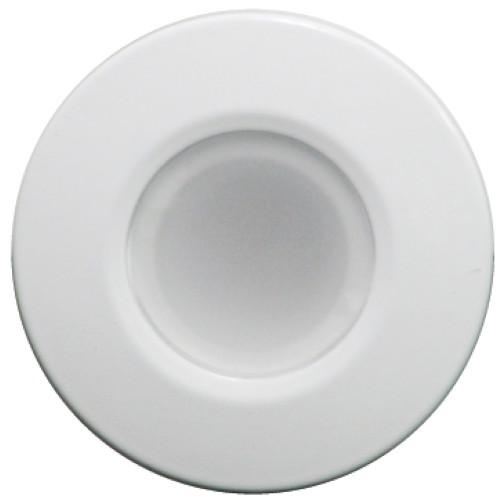 Lumitec Orbit - Flush Mount Down Light - White Finish - 2-Color Blue/White Dimming