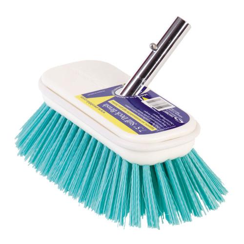 """Swobbit 7.5"""" Stiff Brush - Blue"""