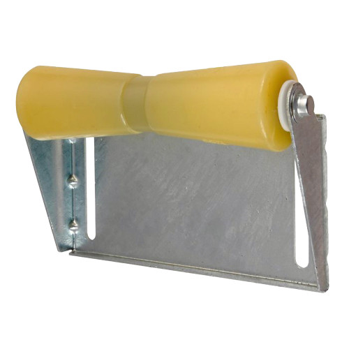 C.E. Smith Panel Bracket Assembly 12 Keel Roller - Yellow TPR
