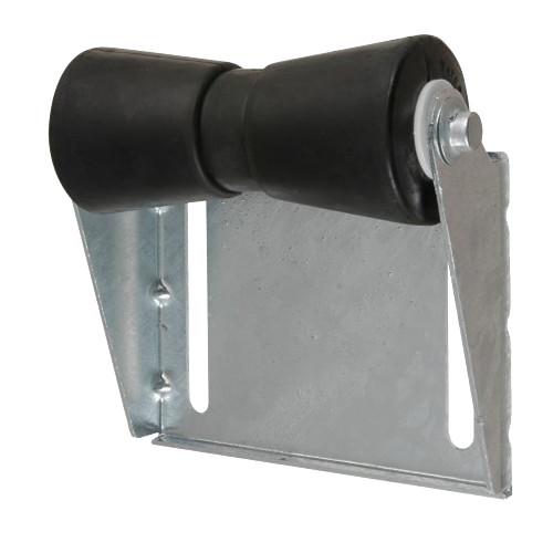 C.E. Smith Panel Bracket Assembly 8 Spool Roller - Black