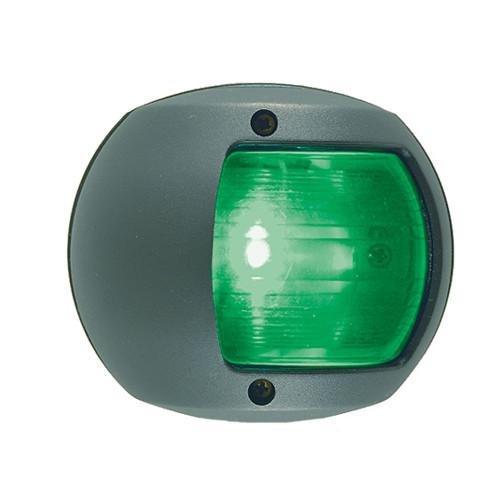 Perko LED Side Light - Green - 12V - Black Plastic Housing