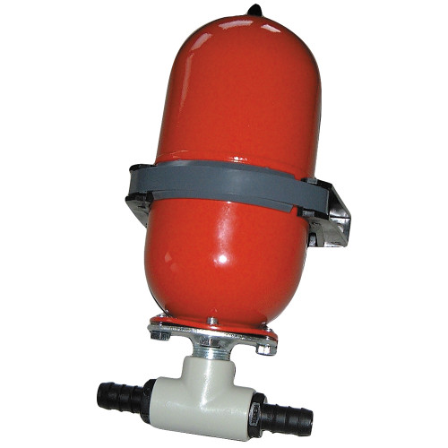 Johnson Pump Accumulator Tank -  Hose Barb - 09-46839-01