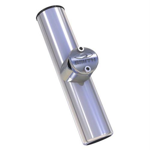 C.E. Smith Adjustable Clamp-On Rod Holder w/Black PVC Liner