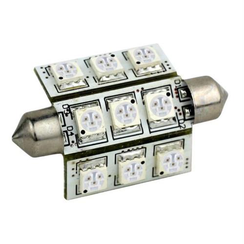 Lunasea LED Navigation Light - 42mm Festoon - 8-30VDC - White