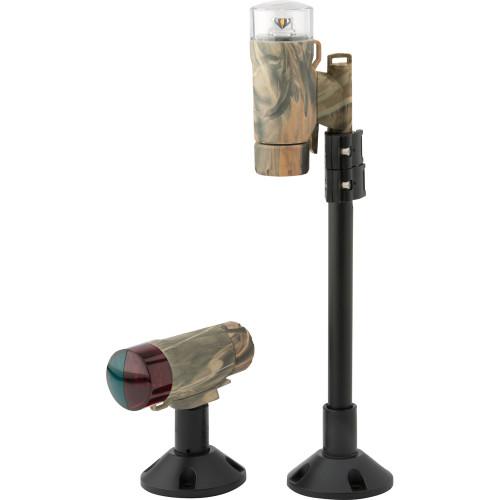Attwood PaddleSport Portable Navigation Light Kit - Screw Down or Adhesive Pad - RealTree Max-4 Camo