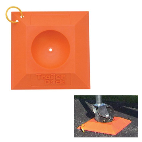 Safe-T-Alert Heavy Duty Trailer Dock/Jack Stand Pad
