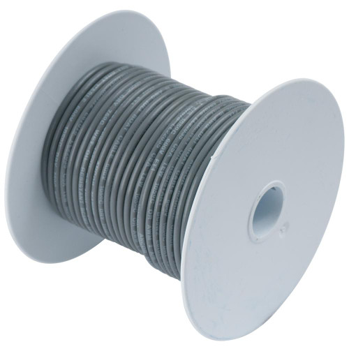 Ancor Grey 16 AWG Tinned Copper Wire - 25'