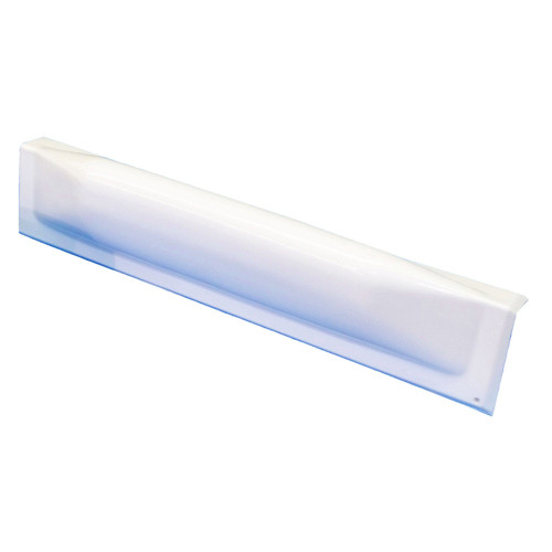 Dock Edge Dock Bumper Straight Dockguard - 18 - White