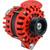 "Balmar Alternator 170AMP, 12V, 1-2"" Single Foot, K6 Pulley w/Internal Regulator  Isolated Grounding"