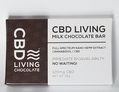 Dreamstate CBD Milk Chocolate 120MG