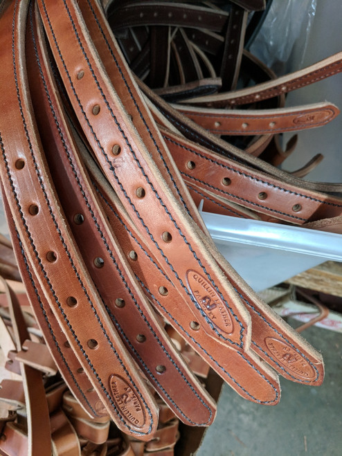 Sale crowns. two ply lined English Bridle Leather