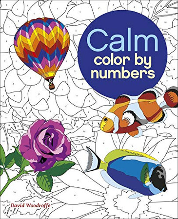 Calm Color by Numbers (Arcturus Color by Numbers Collection)