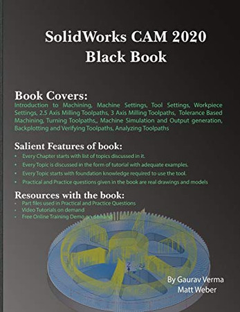 SolidWorks CAM 2020 Black Book