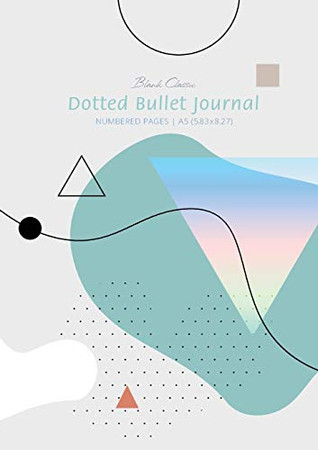 Dotted Bullet Journal - Abstract: Medium A5 - 5.83X8.27