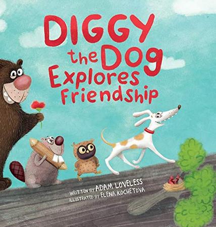 Diggy the Dog Explores Friendship