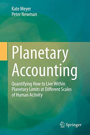 Planetary Accounting: Quantifying How to Live Within Planetary Limits at Different Scales of Human Activity
