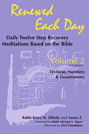 Renewed Each Day?Leviticus, Numbers & Deuteronomy: Daily Twelve Step Recovery Meditations Based on the Bible