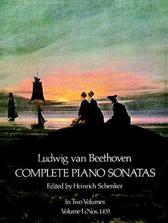 Ludwig Van Beethoven Complete Piano Sonatas Volume 1 (Nos. 1-15)