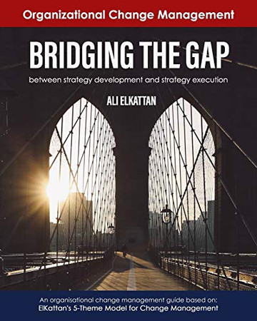 BRIDGING THE GAP: between strategy development and strategy execution (black & white)