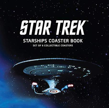 Star Trek Starships Coaster Book: Set of 6 Collectible Coasters