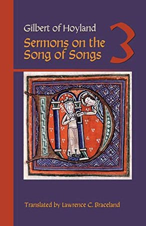 Sermons on the Song of Songs Volume 3 (Volume 26) (Cistercian Fathers)