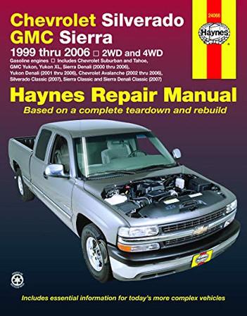 Chevy Silverado & GMC Sierra Pickups (99-06)(Does not include 99 & 00 C/K Classic,99 & 00 Sierra Classic, diesel engine models, 8.1L, CNG, hybrids, rear-wheel steering or heavy-duty)
