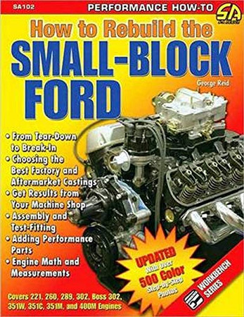 How to Rebuild the Small-Block Ford (S-A Design)
