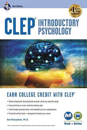 CLEP� Introductory Psychology Book + Online (CLEP Test Preparation)