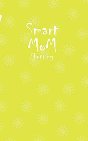 Smart Mom Shopping List Planner Book (Yellow)