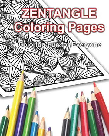 Zentangle Coloring Pages: Coloring Fun for Everyone!