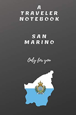 TRAVELER NOTEBOOK SAN MARINO ONLY FOR YOU: TRAVELER NOTEBOOK SAN MARINO: SAN MARINO