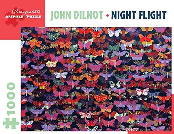 John Dilnot Night Flight 1000-Piece Jigsaw Puzzle