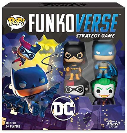 Funkoverse: DC Comics 100 4-Pack Board Game