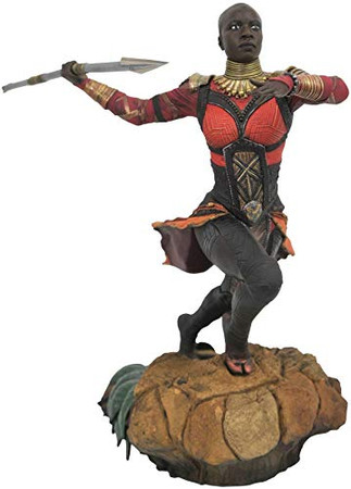 DIAMOND SELECT TOYS Marvel Gallery: Black Panther Movie Okoye PVC Figure, Multicolor