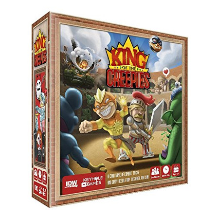 IDW Games King of The Creepies Card Game