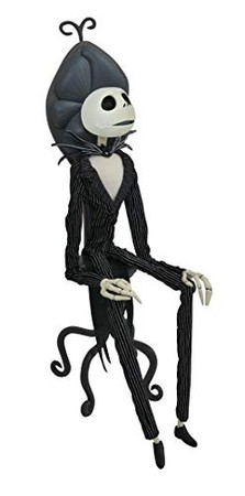 DIAMOND SELECT TOYS The Nightmare Before Christmas: Jack in Chair Deluxe Coffin Doll
