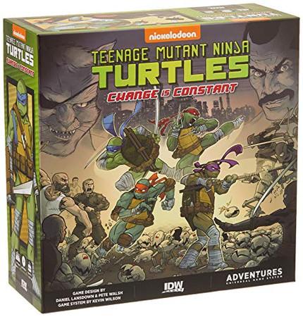 IDW Games Teenage Mutant Ninja Turtles Adventures - Change is Constant