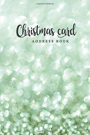 Christmas card address book: Christmas Card List A ten-Year Address Book Tracker for keeping track of your holiday mailings