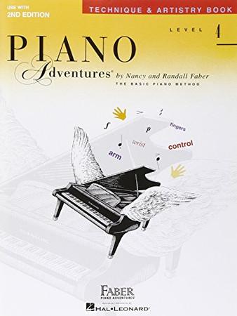 Level 4 - Technique & Artistry Book: Piano Adventures