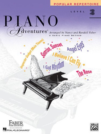 Level 3B - Popular Repertoire Book: Piano Adventures
