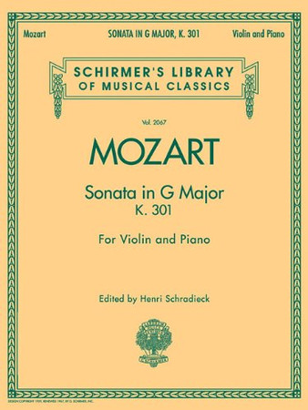 Sonata in G Major, K301: Schirmer Library of Classics Volume 2067 for Violin and Piano (Schirmer's Library of Musical Classics)