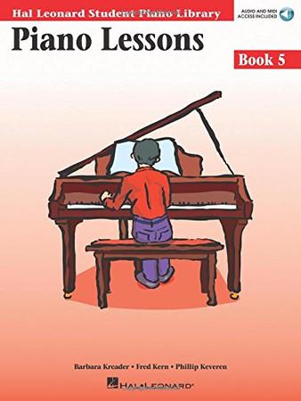 Piano Lessons Book 5: Hal Leonard Student Piano Library (Hal Leonard Student Piano Library (Songbooks))