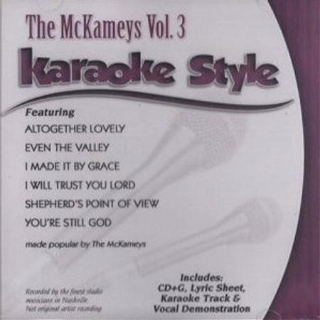 Daywind Karaoke Style: The McKameys Vol. 3
