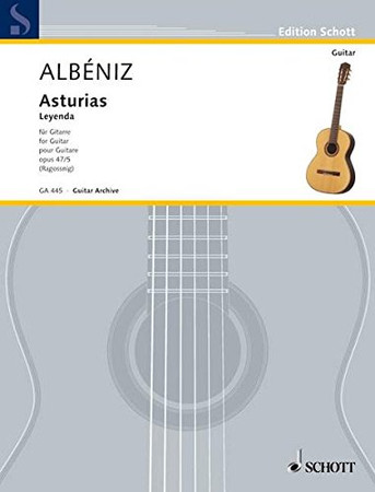 Asturias (Leyenda), Op. 47: No. 5 from Suite Espanola