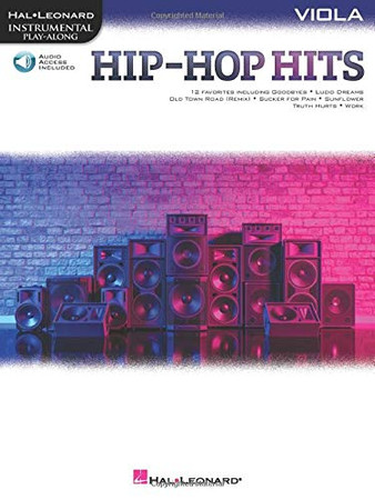 Hip-Hop Hits for Viola Play-Along with Online Audio (Hal Leonard Instrumental Play-along)