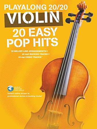 Play Along 20/20 Violin: 20 Easy Pop Hits