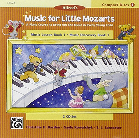Music for Little Mozarts 2-CD Sets for Lesson and Discovery Books: Level 1 (2 CDs)